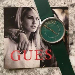 VINTAGE 1980'S GUESS WATCH GOLDEN